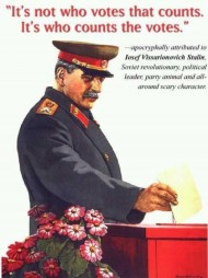 Oregon Senate Democrats Support A Favored Stalin Approach to Elections.